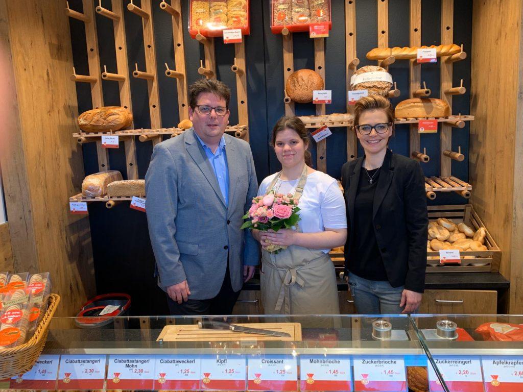 Neueröffnung Bäckerei Weissensteiner