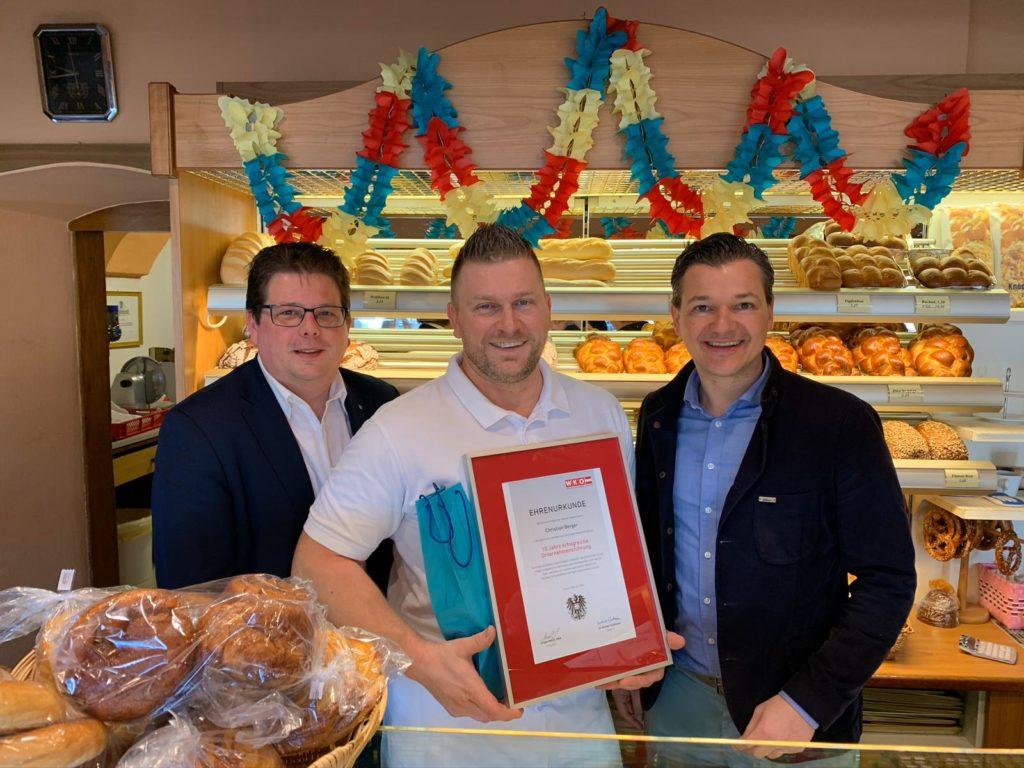 Bäcker Berger mit Christian Pober und Peter Weidinger